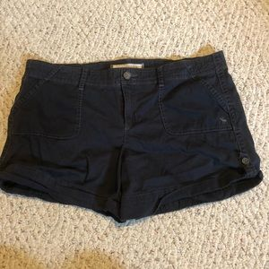 Abercrombie & Fitch shorts size 12 navy blue